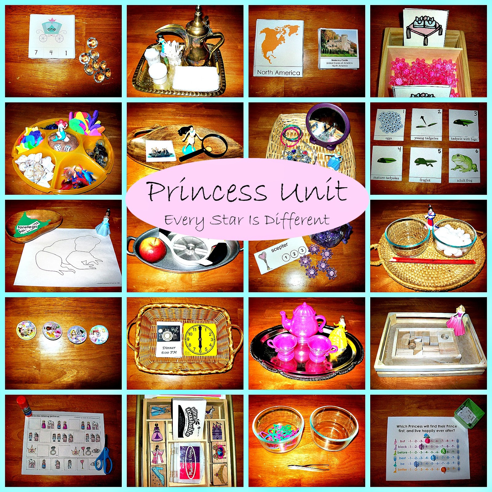 Disney Princess Activities For Tots Amp Preschoolers W Free Printables Learn Amp Play Link Up