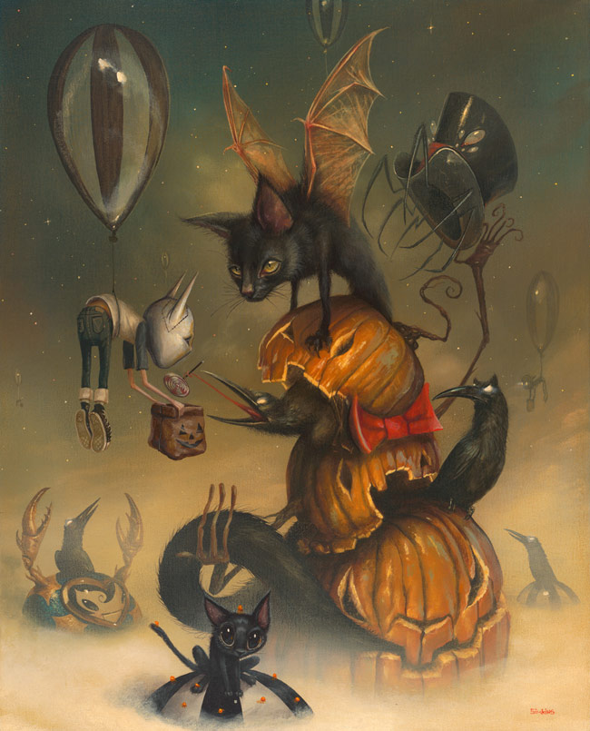 10-Tricky-Traitors-Greg-Craola-Simkins-Fantastical-Surreal-Paintings-Full-of-Details