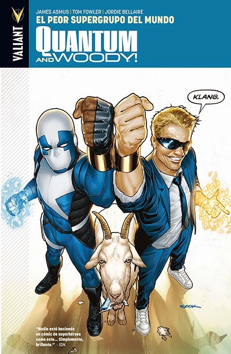 Quantum and Woody! Aleta Ediciones Valiant
