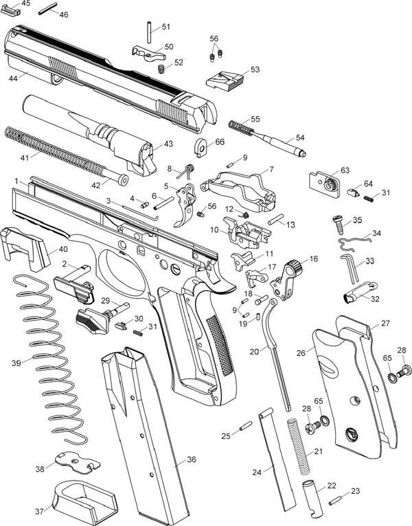Armas De Fuego Pistola Cz