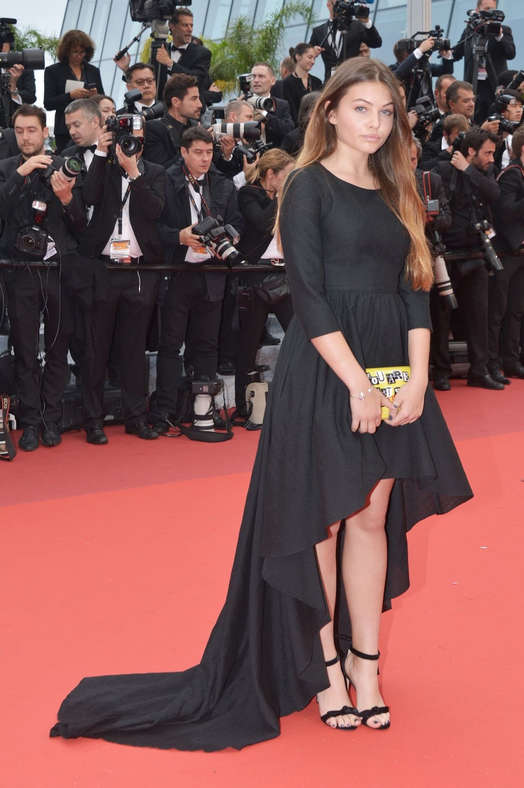 Full HQ Photos of Fashion Model Thylane Blondeau The BFG Premiere Cannes Film Festival In Cannes 2016
