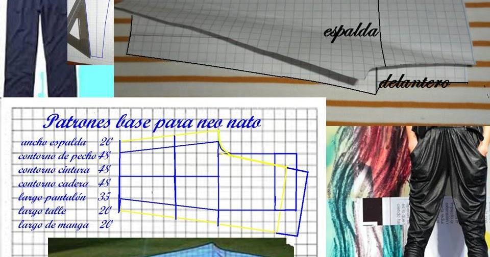Costurarte el arte de coser: Patrones para pantalón