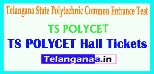 TS POLYCET 2019 Hall Tickets Polytechnic Common Entrance Test Hall Tickets