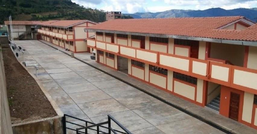 PRONIED: Inauguran colegio José Gabriel Condorcanqui que beneficia a casi 200 alumnos de Cajamarca - www.pronied.gob.pe
