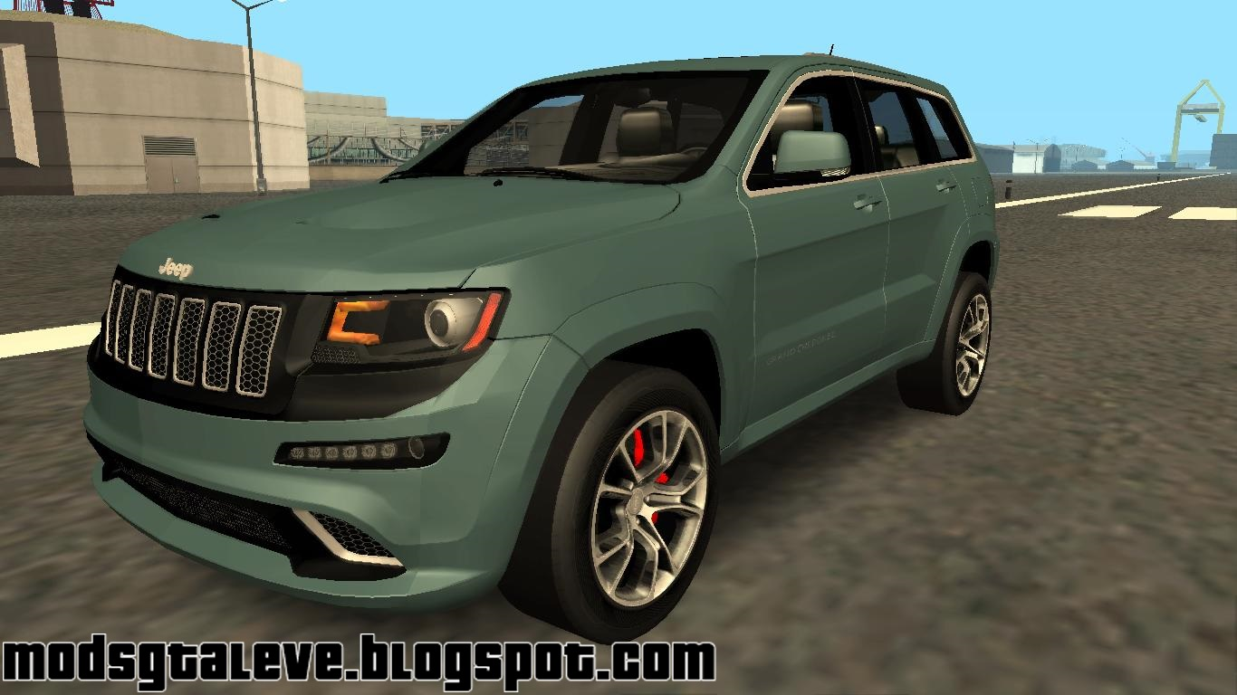 jeep grand cherokee srt8 2014 imvehft mods gta leve. Black Bedroom Furniture Sets. Home Design Ideas
