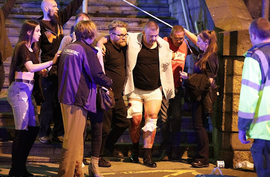 Blast at Ariana Grande concert leaves 19 dead