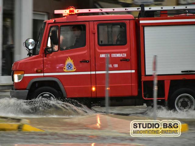 Άνοιξαν οι δρόμοι στο Άργος - Κανονικά η κυκλοφορία - Δεκάδες πλημμυρισμένα υπόγεια