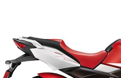 Hero MotoCorp Xtreme 200S beck rest image