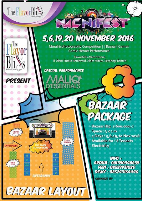 Event Tangerang Macnifest The Flavor Bliss Alam Sutera