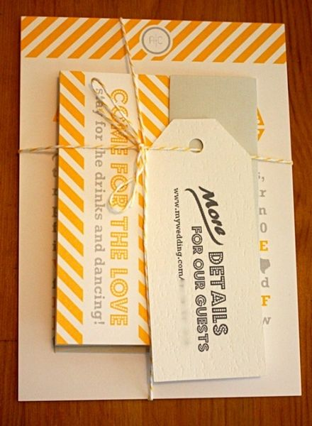 Wedding Invitation Packaging