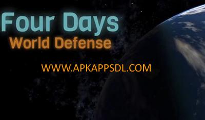 Download Four Days World Defense Mod Apk v1.2.2 Android Full Terbaru 2017