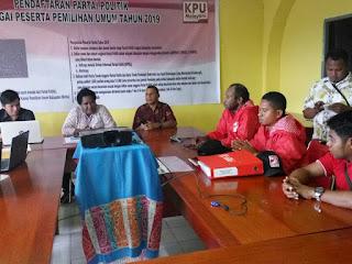 Jaringan Telkom Bermasalah Pleno KPU Mimika Ditunda