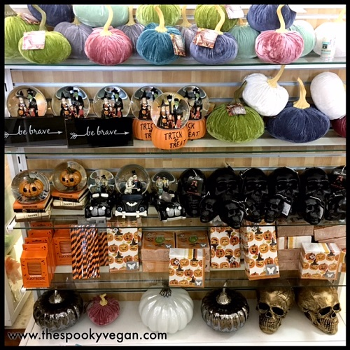 The Spooky Vegan Halloween 2017 at HomeGoods