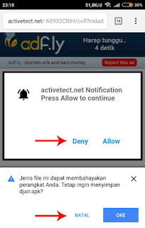 cara download di adf