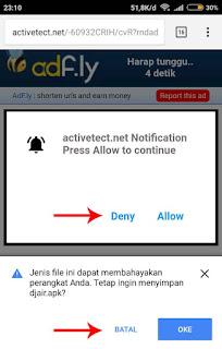cara download di adf