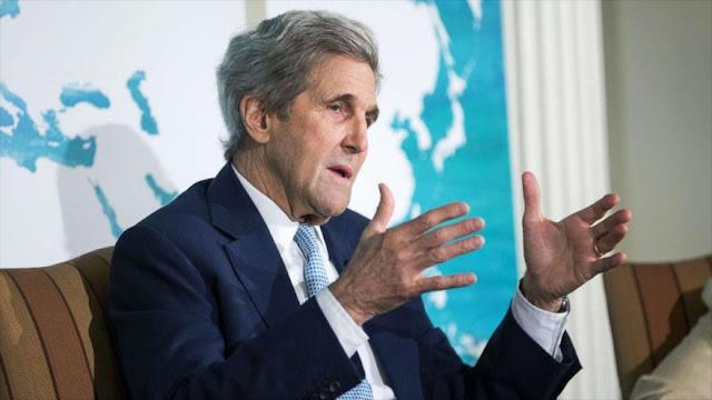 Kerry: Trump no entiende a los Estados Unidos