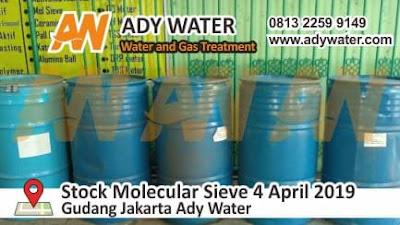 stock molecular sieve 4 April 2019
