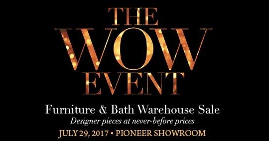 Manila shopper the wow event furniture bath warehouse for Furniture year end sale 2017