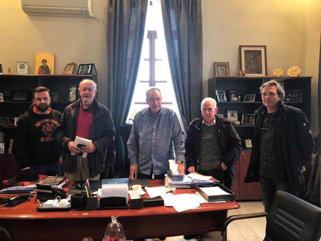 Συνάντηση Δημάρχου Πολυγύρου με την Εταιρεία Φίλων Αρχαιολογικού Μουσείου Πολυγύρου
