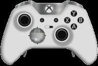 white elite xbox one controller