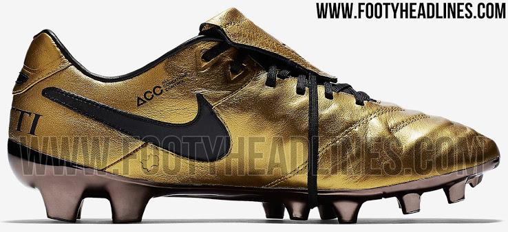 innovative design b85e8 ddd7c FTH: EXCLUSIVE: Nike Tiempo Totti X Roma Signature Boots Leaked