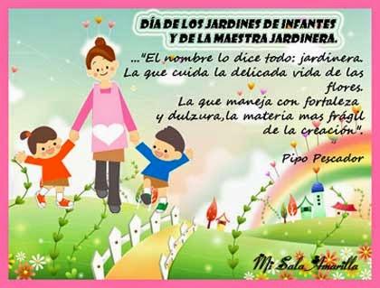 Mi sala amarilla mensaje para las maestras jardineras en for Decoracion salas jardin de infantes