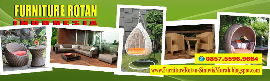Jual Furniture Rotan Sintetis Pabrik Sofa Mebel Kursi