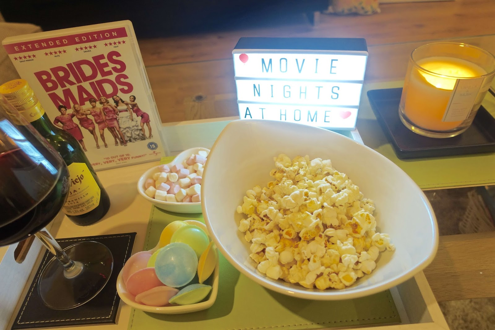 the perfect movie night at home