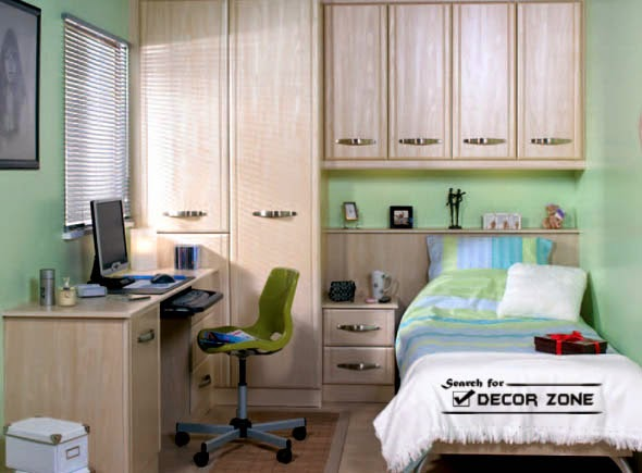 small bedroom ideas, designs and decorating tips - bedroom desk ideas