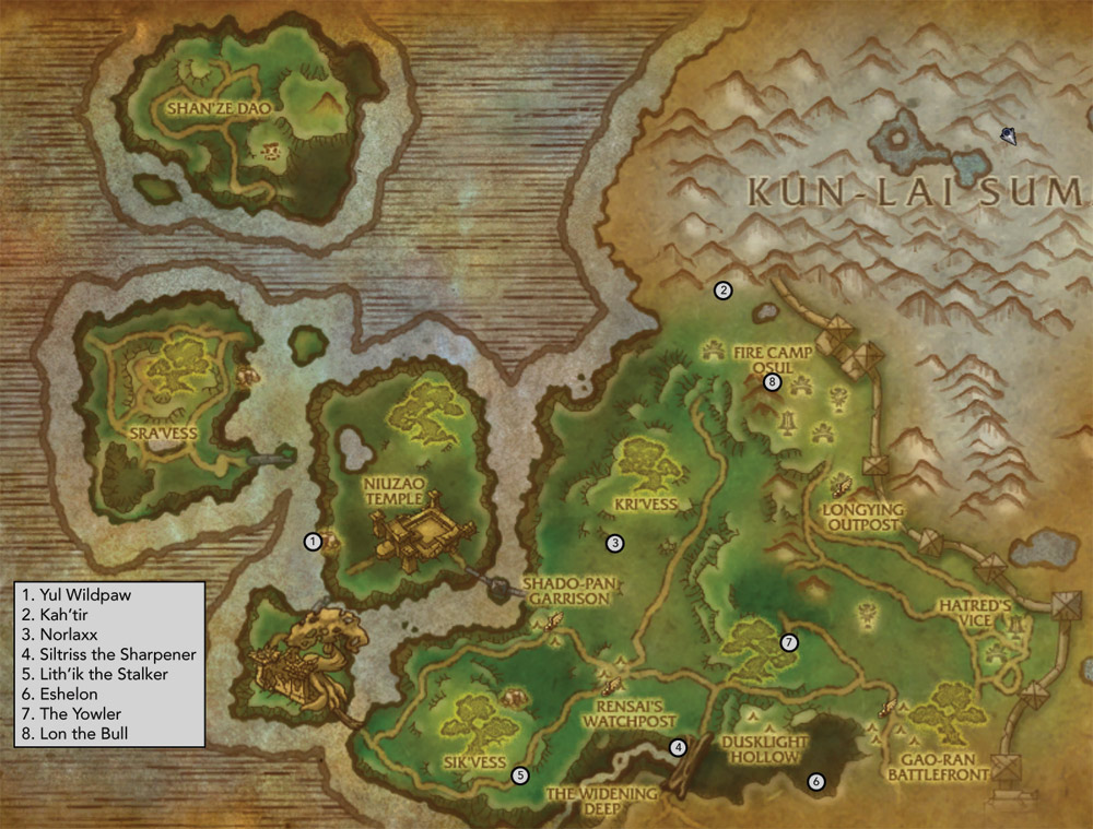 Townlong Steppes - MMO-Champion |Townlong Steppes Map