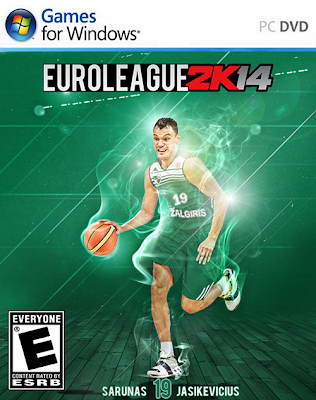 Euroleague 2K14 Patch PC Cover