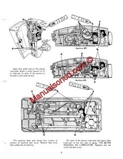 Singer 600 And 603 Service And Repair Manual