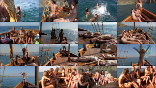 Nudist Pirate Ship Cruise (Nudist Boat Cruise). Full version.