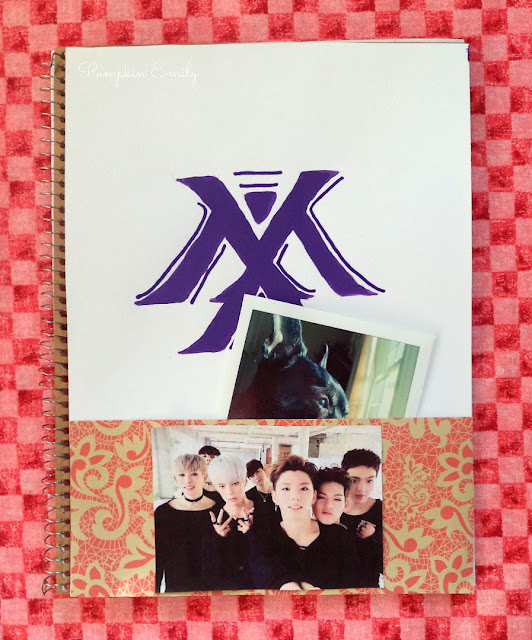 DIY Monsta X Pocket Notebook
