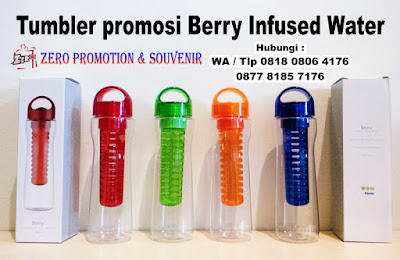 Jual Botol Minum Buah model Berry Infused water, Tumbler Berry Infused Water, Botol minum Berry, Souvenir Botol Infused Water Promosi, tumbler Chielo Berry Murah