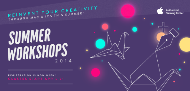 Power Mac Center Summer Workshops 2014