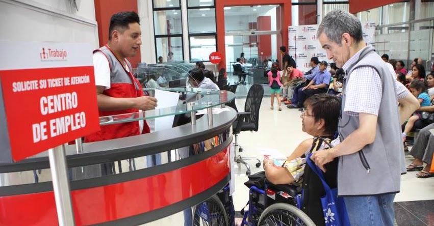 Ministerio de Trabajo implementa oficina de empleo para personas con discapacidad en el Instituto Nacional de Rehabilitación