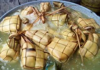 cara cepat memasak ketupat hanya satu jam