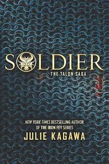 Soldier Julie Kagawa copertina