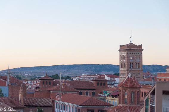 Vista de Teruel desde Torre Salvador. Visitando Teruel.