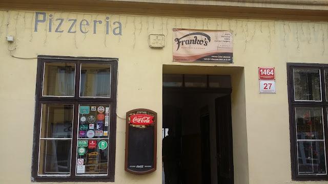 Cashback World - Franko's Restaurant, Burgeria & Pizzeria - vchod