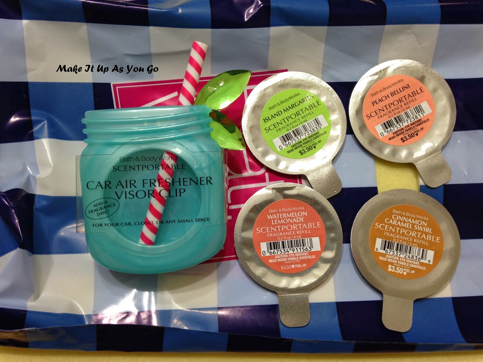 Make It Up As You Go: Bath & Body Works Car Scents