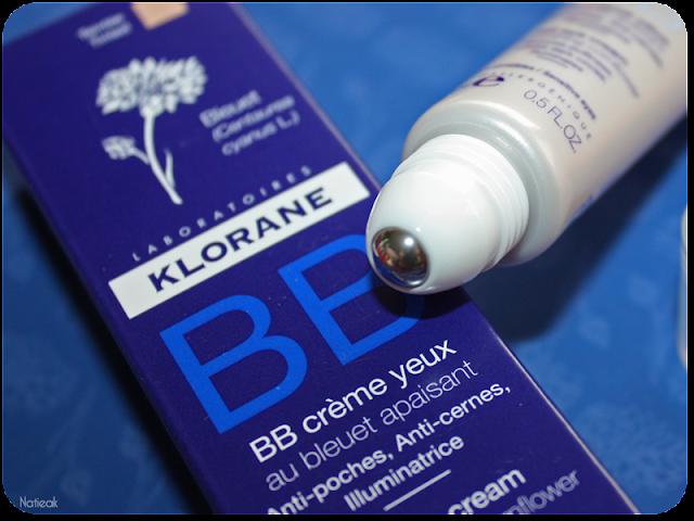 BB ccrème contour des yeux au bleuet apaisant