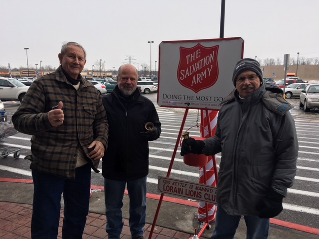 Lions Ring The Bell For Salvation Army On December 16
