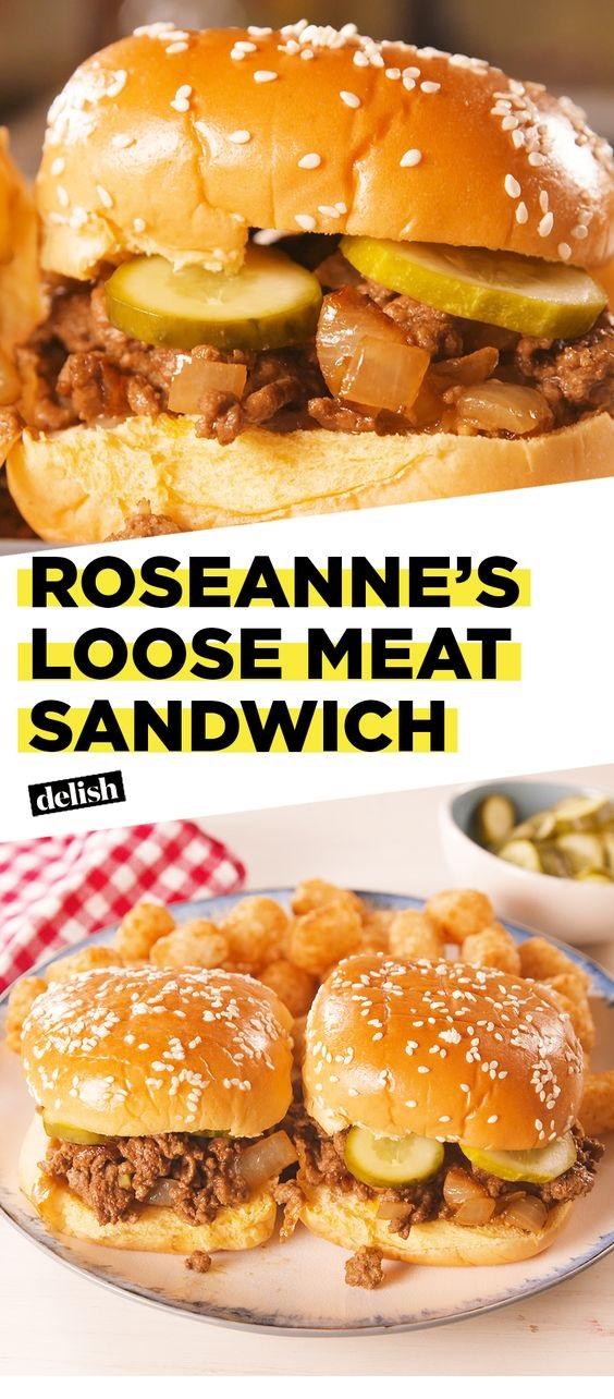 Roseanne's Loose Meat Sandwich