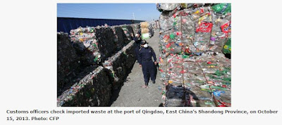US drowning in its own waste, blaming China for rejecting 'recycled commodities'