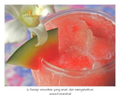 smoothie semangka