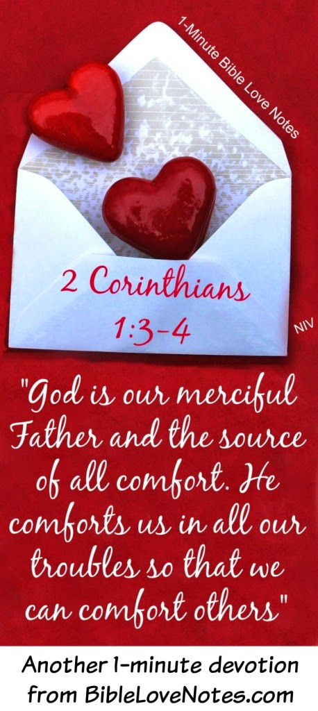 2 Corinthians 1:3-4, God of All Comfort, God comforts us, Jacob refused to be comforted