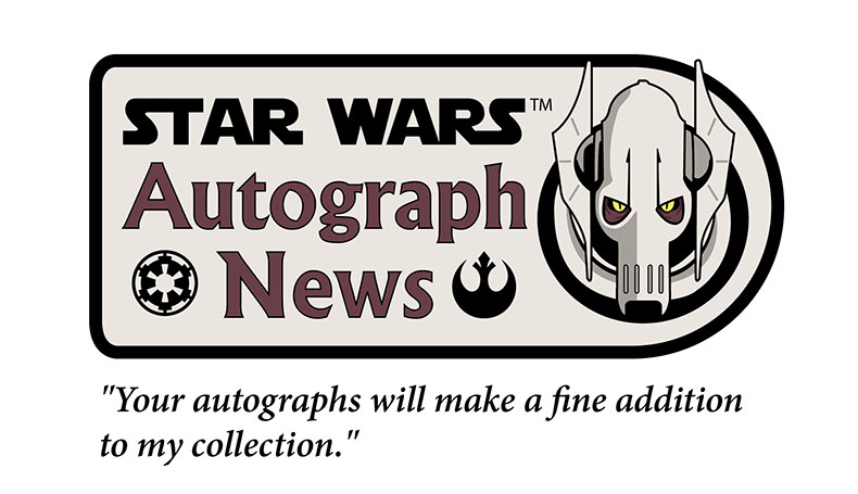 Star Wars Autograph News