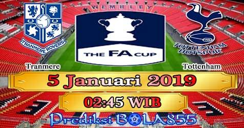 Prediksi Bola855 Tranmere vs Tottenham 5 Januari 2019